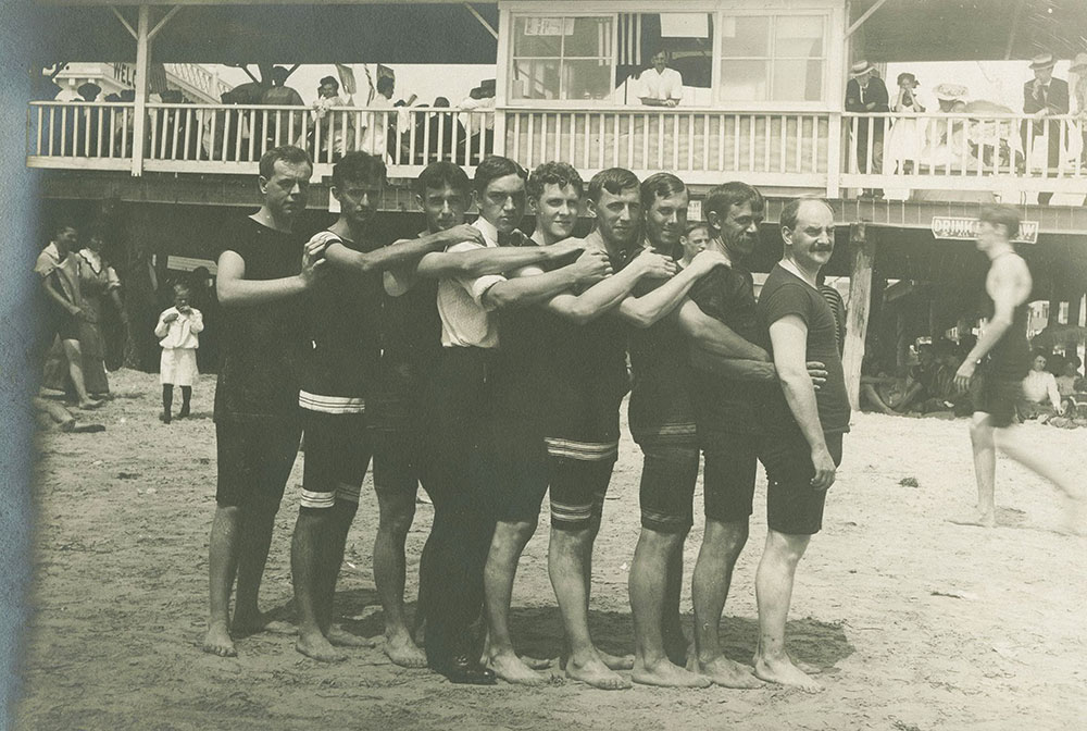 Men in Bathing Suits
