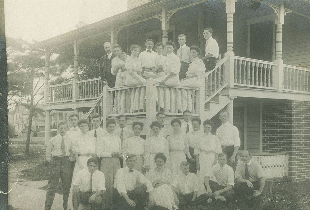 Large Group Pose on Building Steps