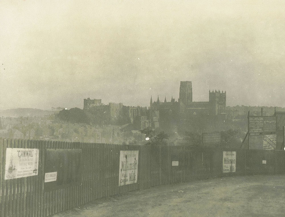 The Cathedral & Castle from the Railroad, Durham
