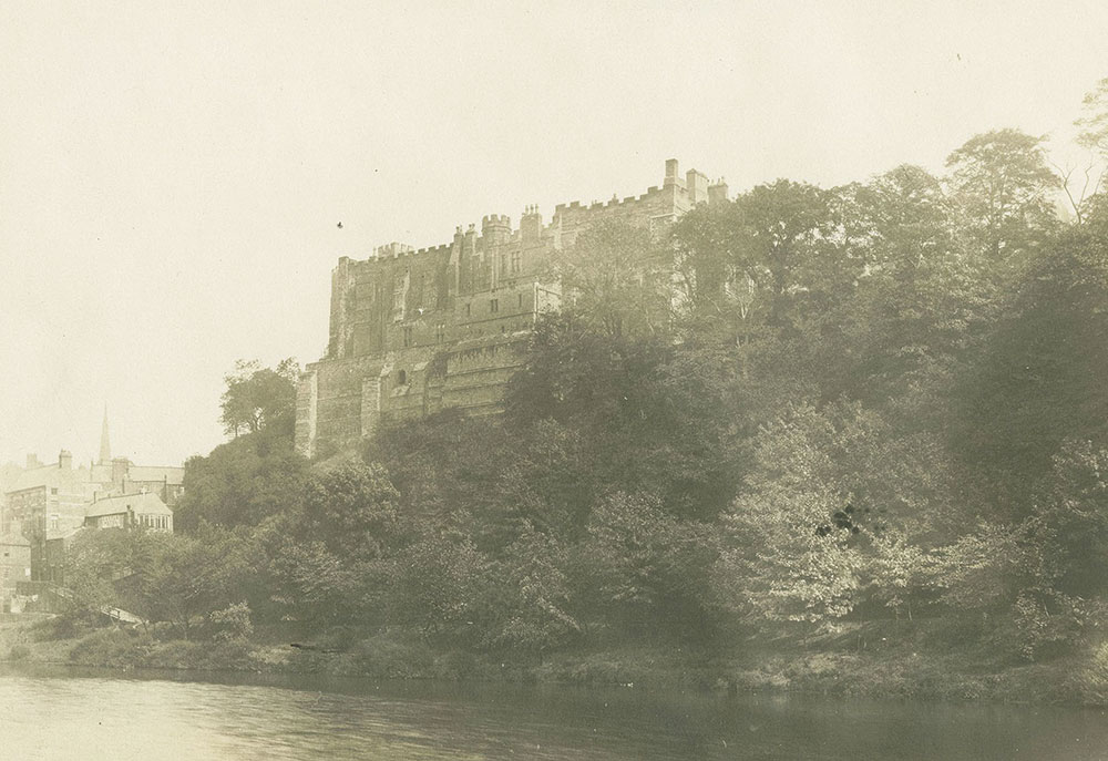The Castle from the River, Durham