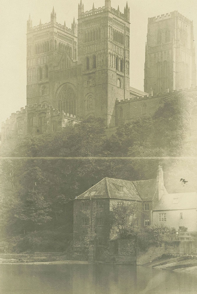 The Durham Cathedral from the River