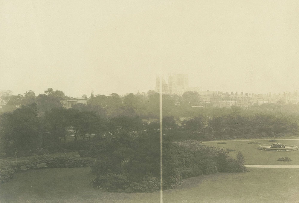 The Minster from the Hotel