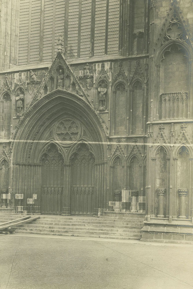 The Minster Entrance