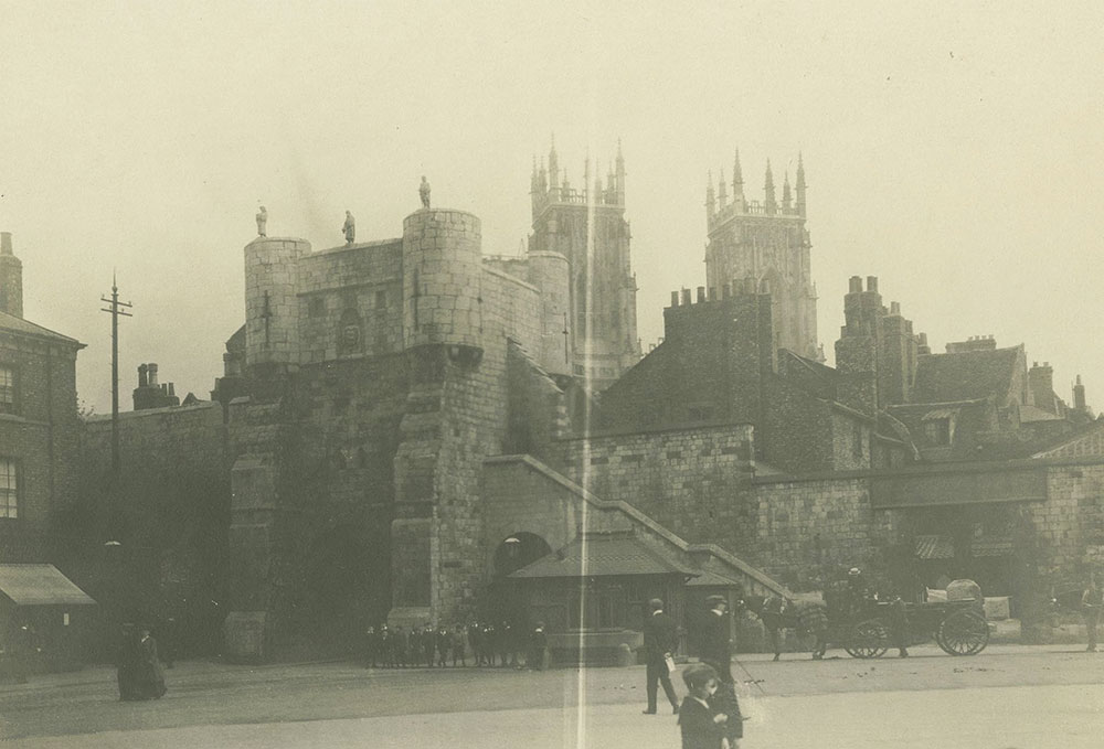 The Old Town Gate, York