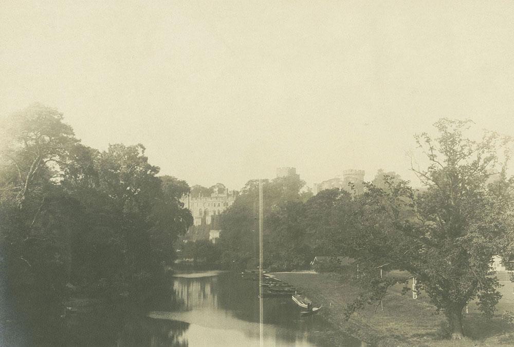 The Castle from the Bridge, Warwick