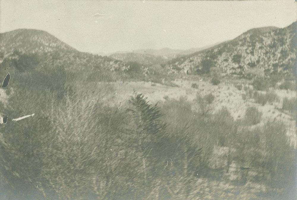 Hills in desert