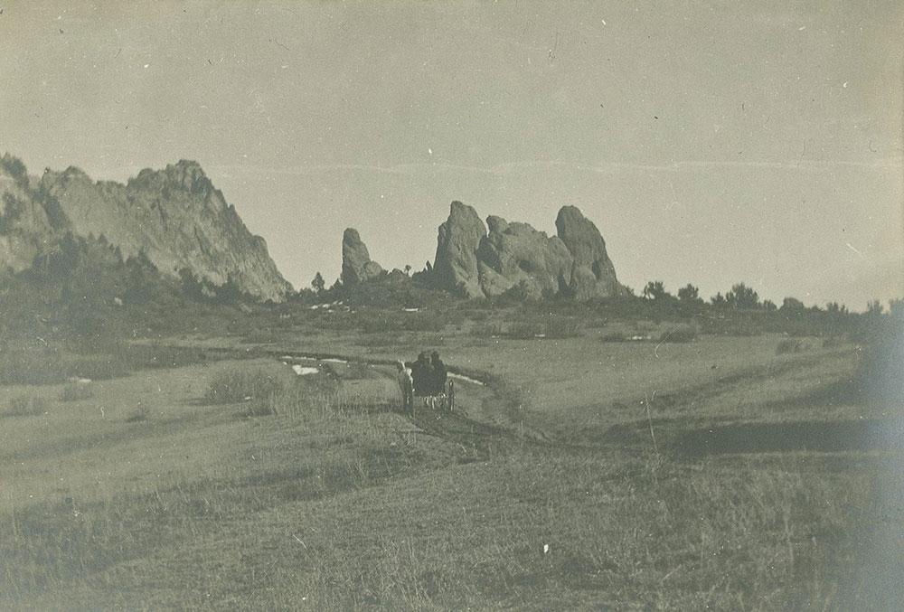 Wagon on Path