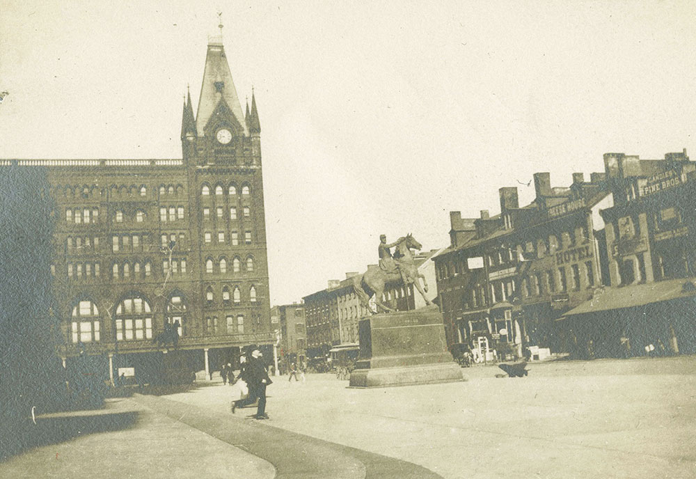 Pennsylvania Railroad Station, Market Street