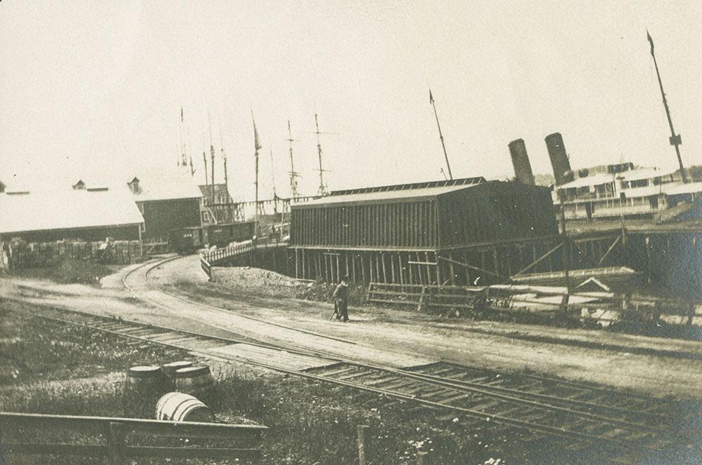 Yarmouth, Nova Scotia Along the Wharves