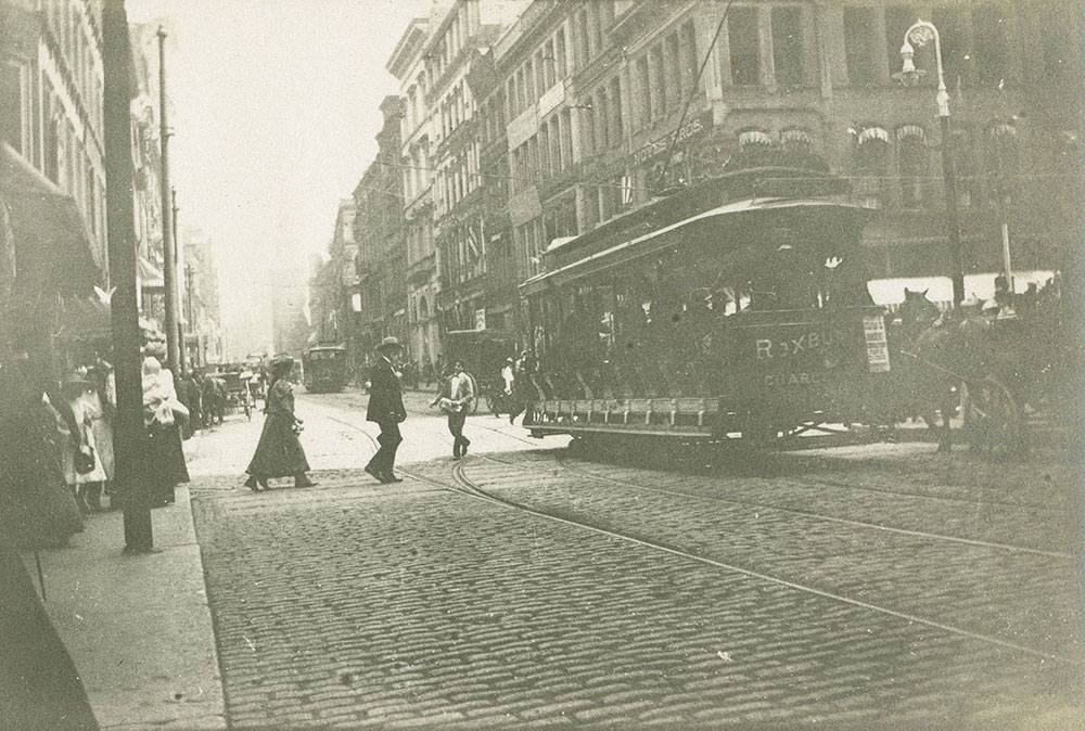 Street Scene in Boston