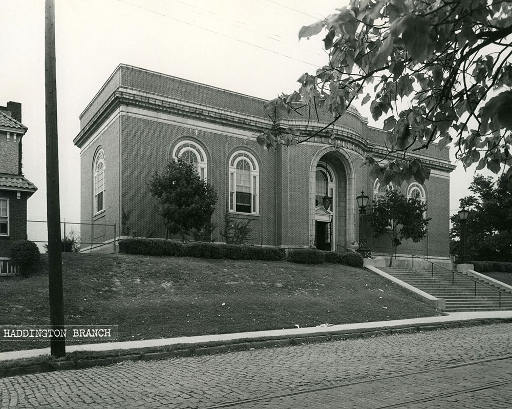 Haddington Branch - Historical Images of Philadelphia