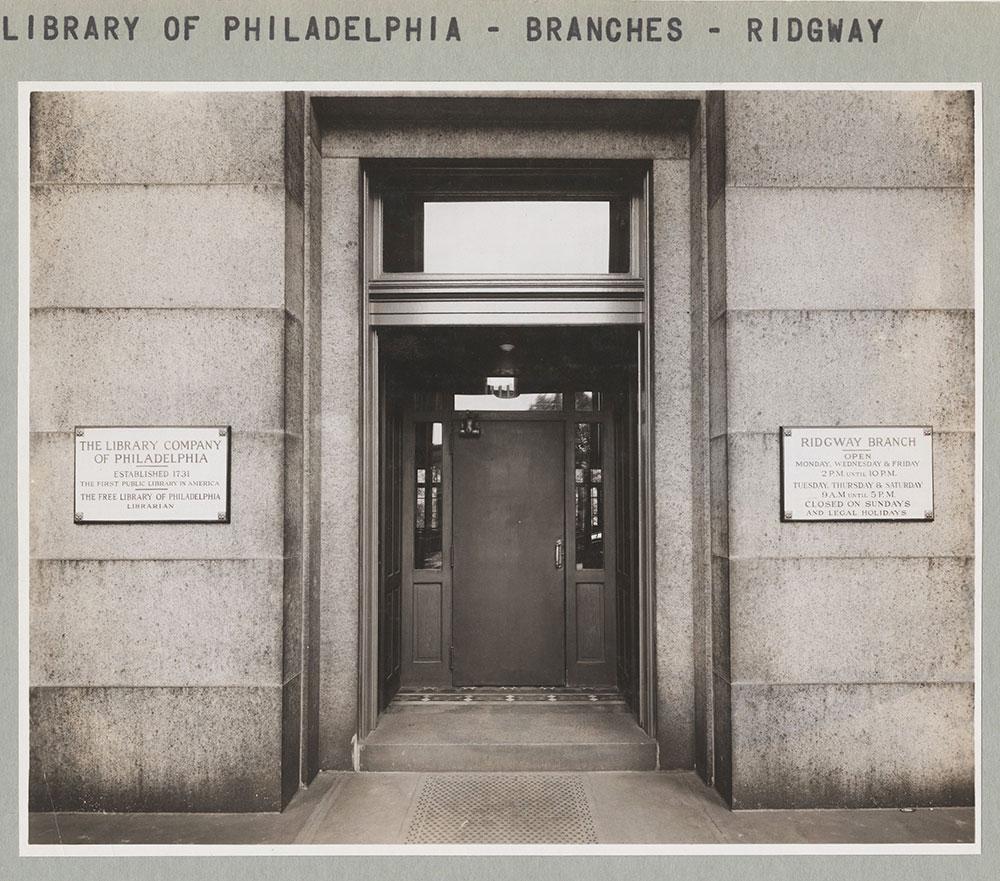 Ridgway Branch