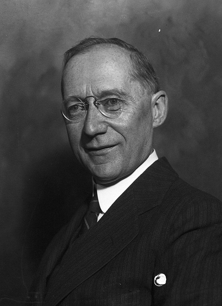 E.W. Rushton President of the M. Ministries Association