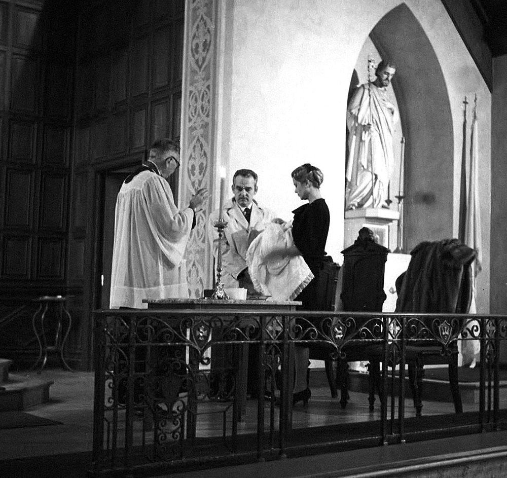 Christening at St. John Baptist Vianny Catholic Church