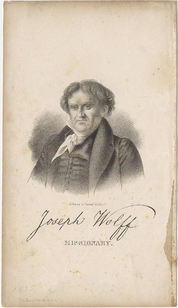 Joseph Wolff, Missionary