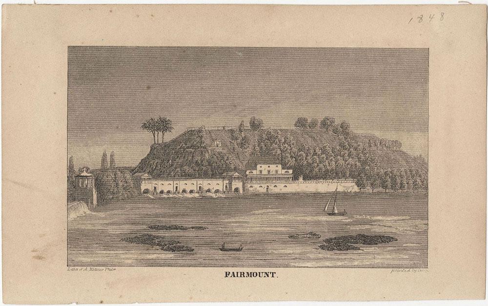 Fairmount [graphic] / Lithy. of A. Kollner Phila.