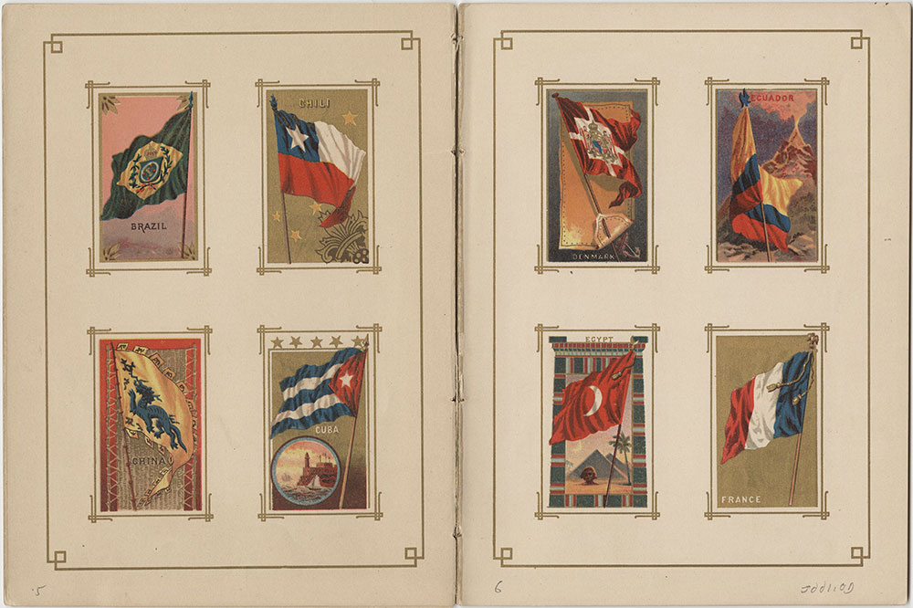 Flags of All Nations and the United States of America - Pages 5 & 6