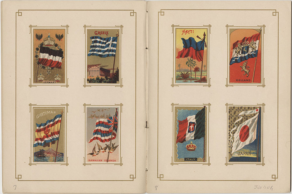 Flags of All Nations and the United States of America - Pages 7 & 8
