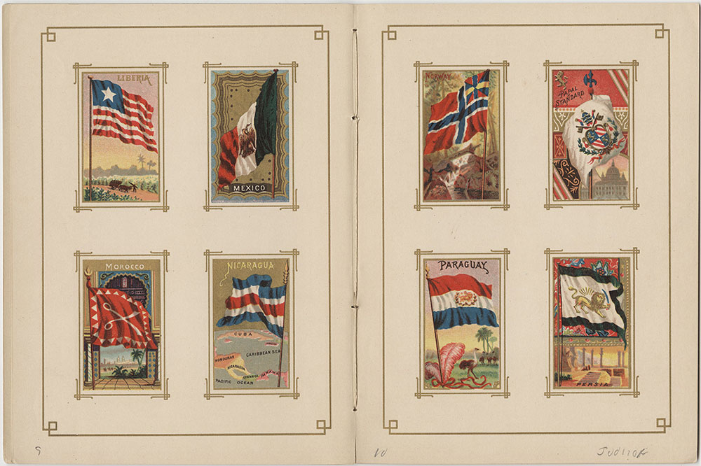 Flags of All Nations and the United States of America Pages 9 & 10