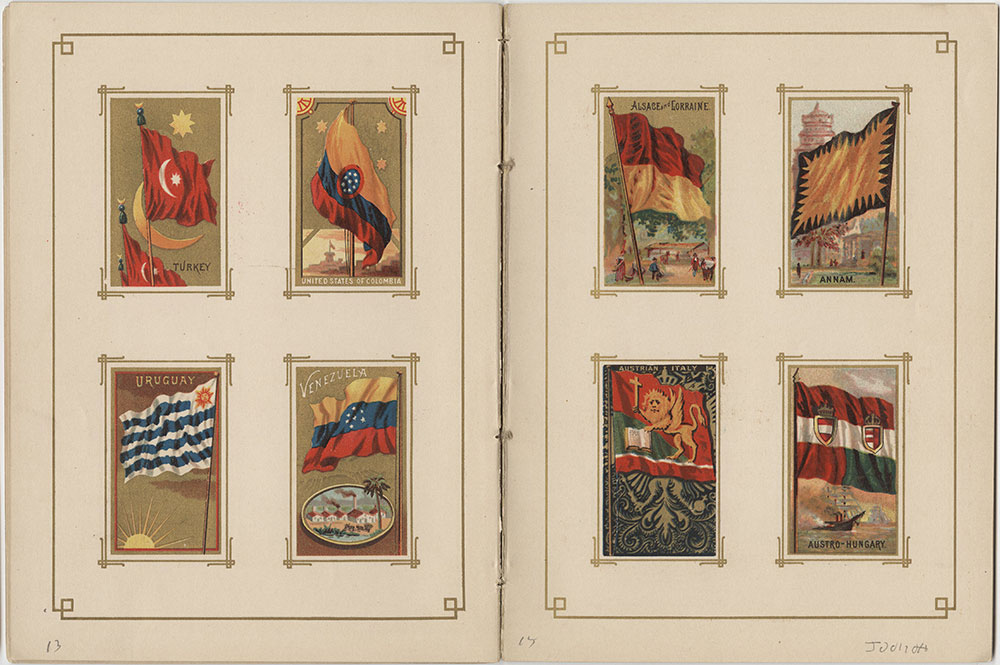 Flags of All Nations and the United States of America - Pages 13 & 14