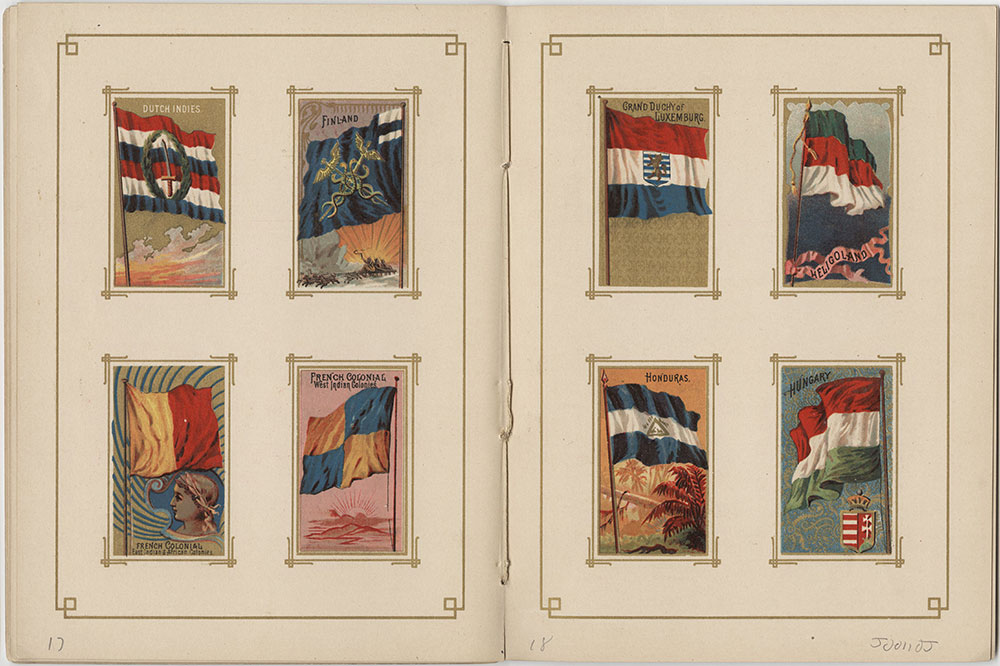 Flags of All nations and the United States of America - Pages 17 & 18