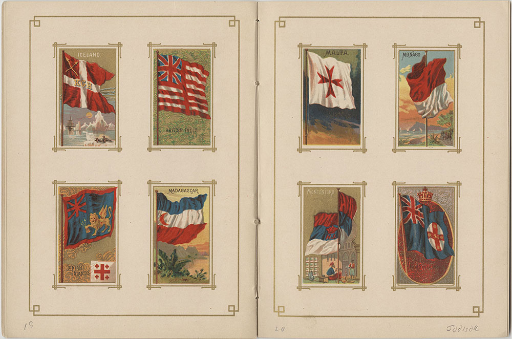 Flags of All Nations and the United States of America - Pages 19 & 20