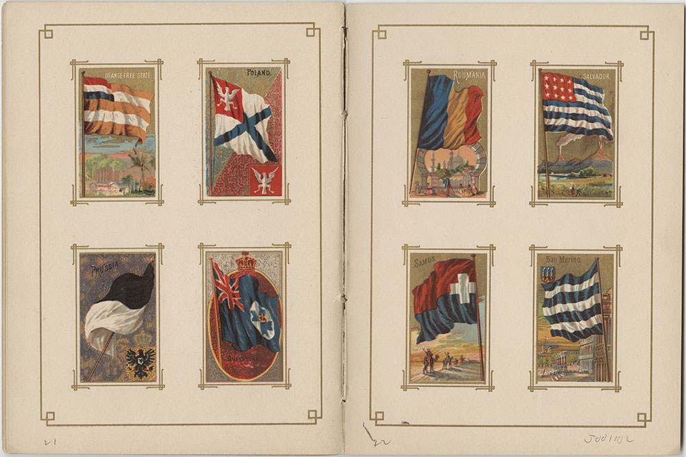 Flags of All Nations and the United States of America - Pages 21 & 22