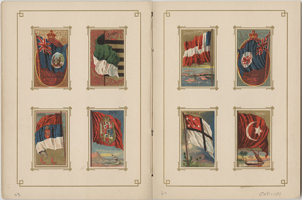 Flags of All Nations and the United States of America - Pages 23 & 24
