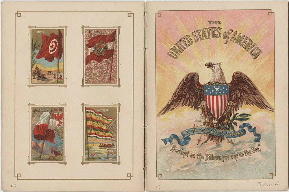 Flags of All Nations and the United States of America - Pages 25 & 26