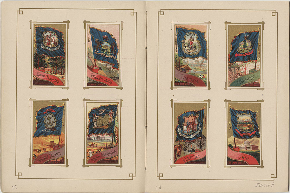 Flags of All Nations and the United States of America - Pages 29 & 30