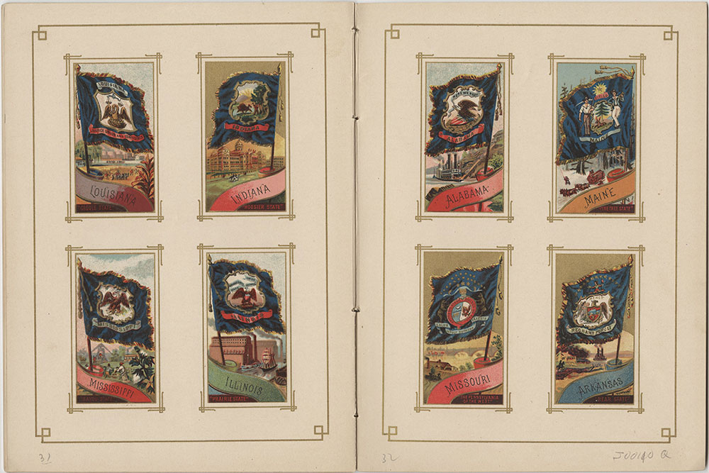 Flags of All Nations and the United States of America - Pages 31 & 32