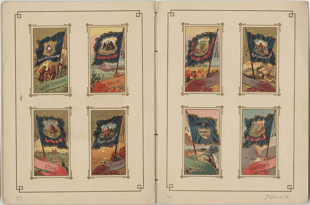 Flags of All Nations and the United States of America - Pages 39 & 40