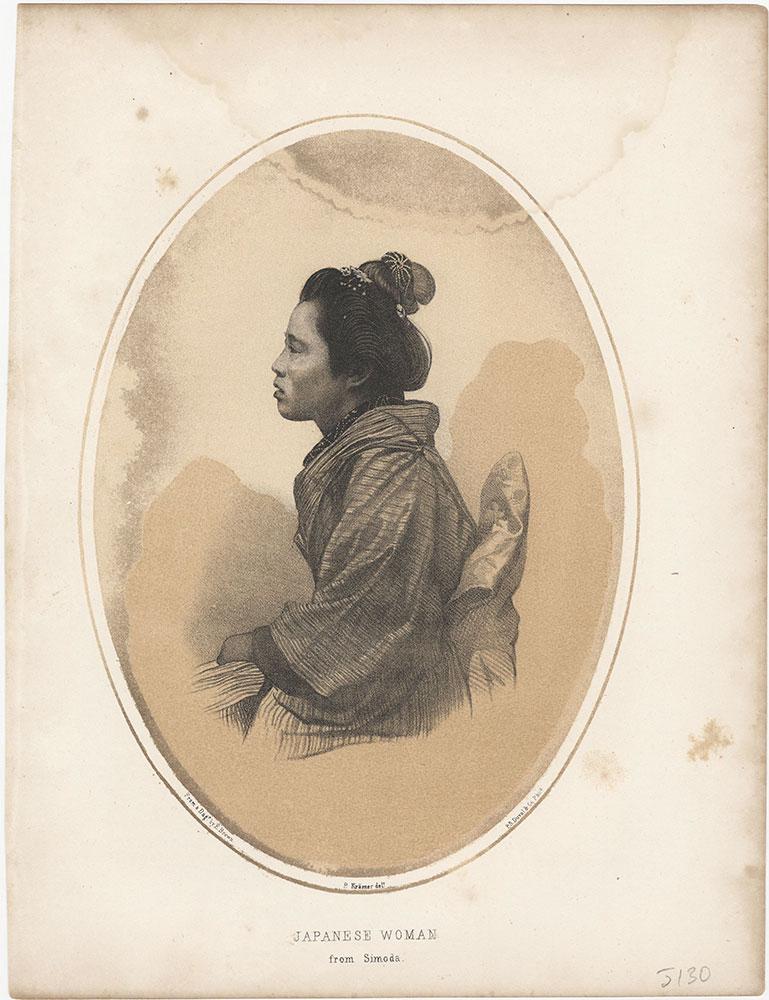 Japanese Woman from Simoda