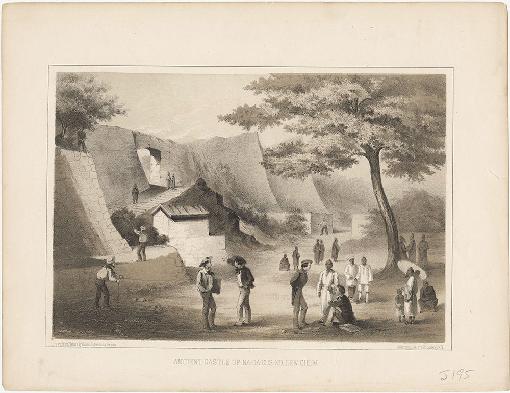 Ancient Castle of Na-Ga-Cus-Ko, Lew Chew