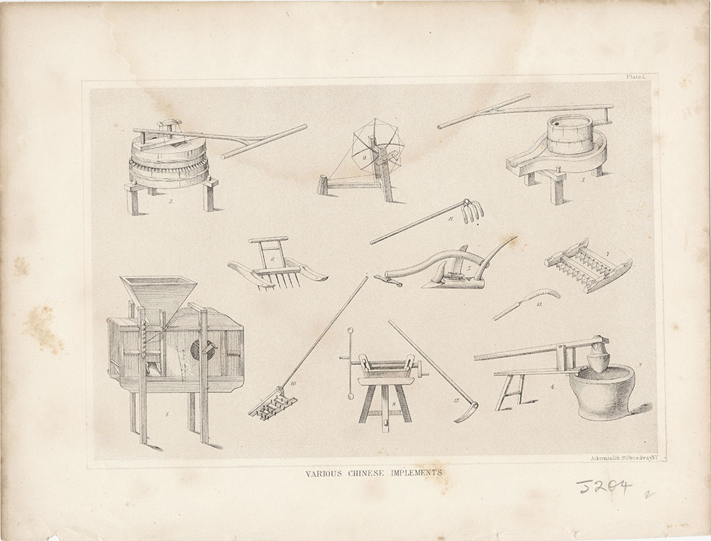 Various Chinese Implements