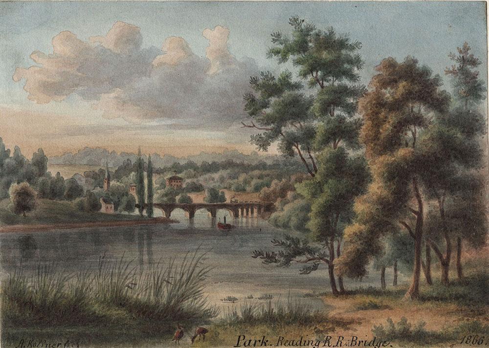 Park, Reading Railroad Bridge