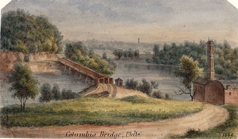 Columbia Bridge, Phila.