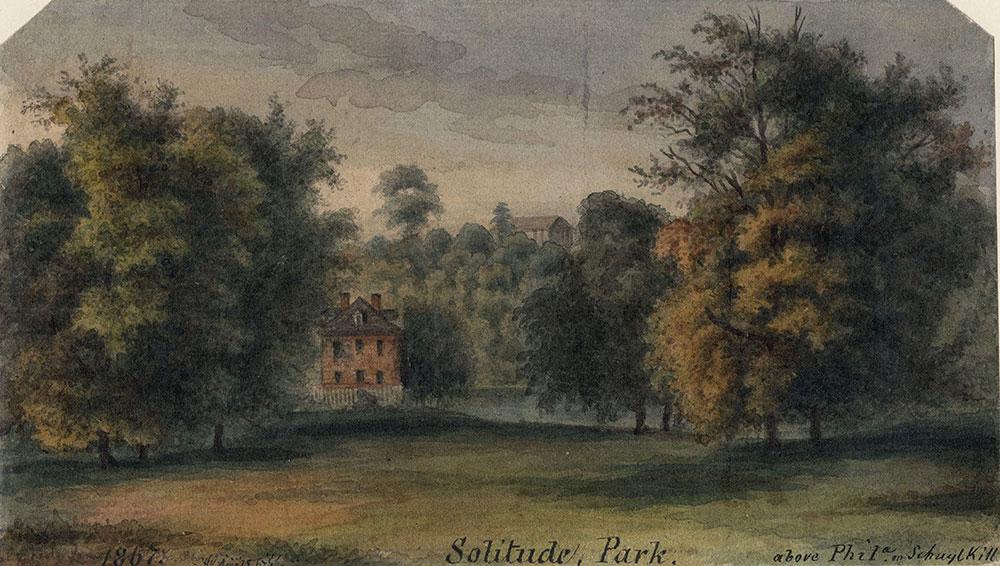 Solitude, Park, above Philadelphia on Schuylkill River