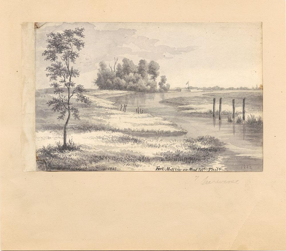 Fort Mifflin on Mud Island, Phila.
