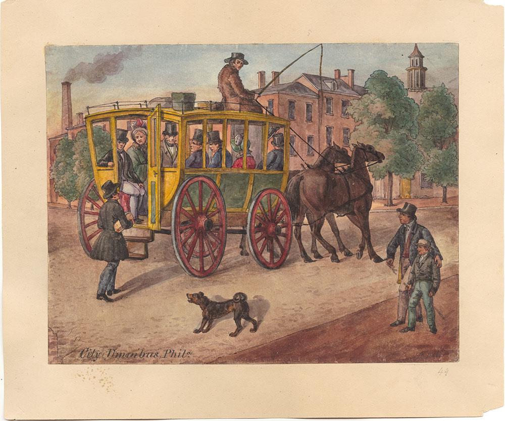 City Umnibus, Phila.