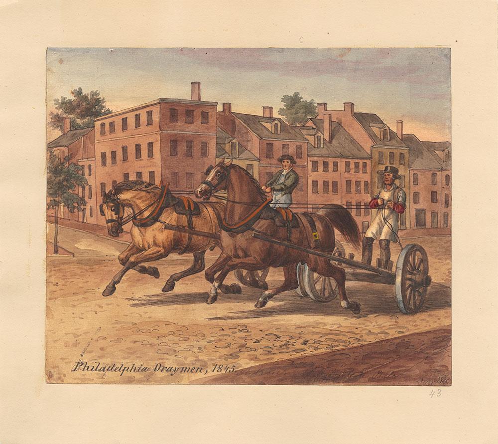 Philadelphia Draymen, 1845