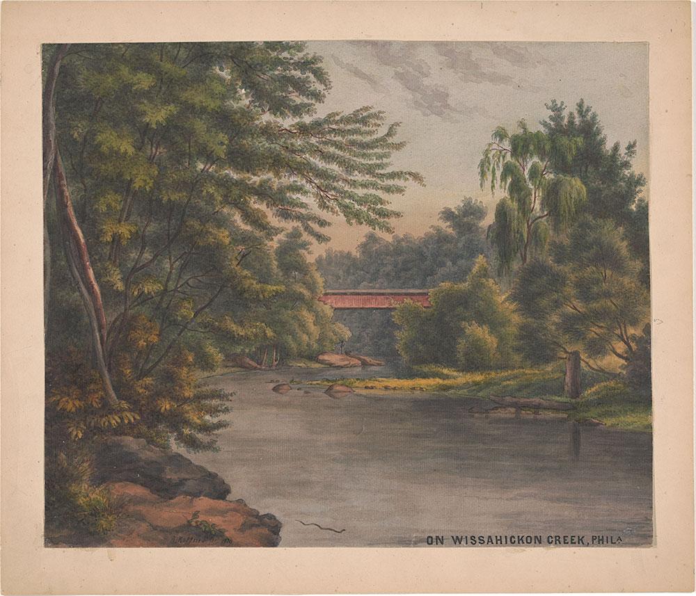 On Wissahickon Creek, Phila. Pa.