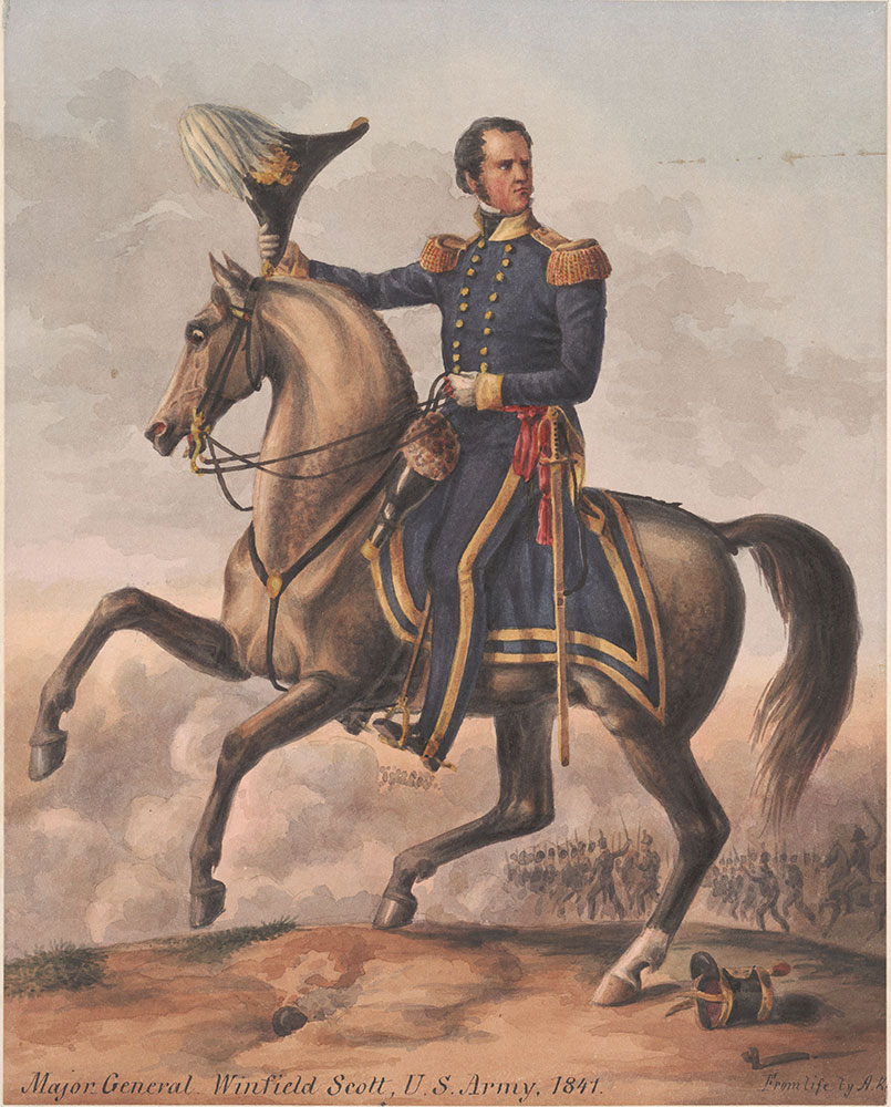 Major General Winfield Scott, US Army 1841
