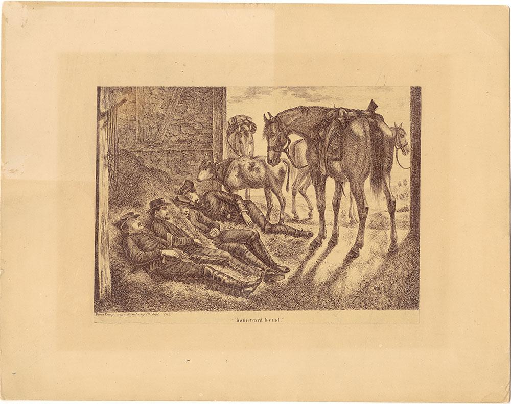 Dana Troop, near Hamburg, Pa.  Sept. 1863