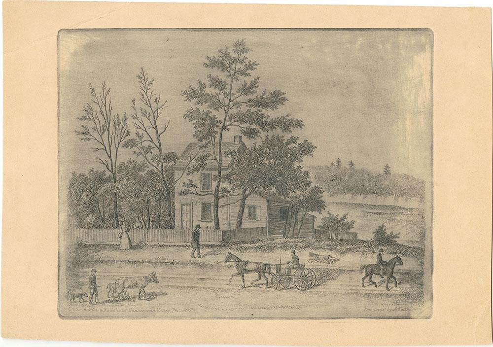 On Germantown Road and Gunners run Valley, Philadelphia, Pa.