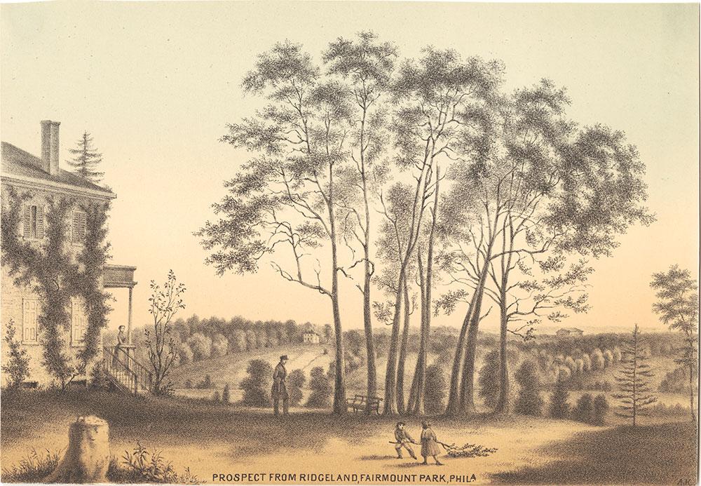 Prospect from Ridgeland, Fairmount Park, Phila.