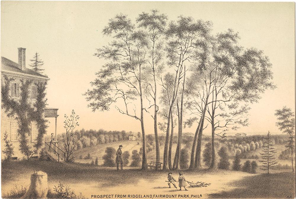 Prospect from Ridgeland, Fairmount Park Phila.