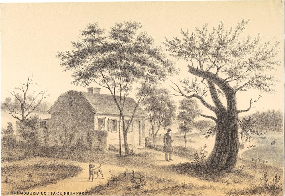 Thomas Moore's Cottage, Phila. Park.