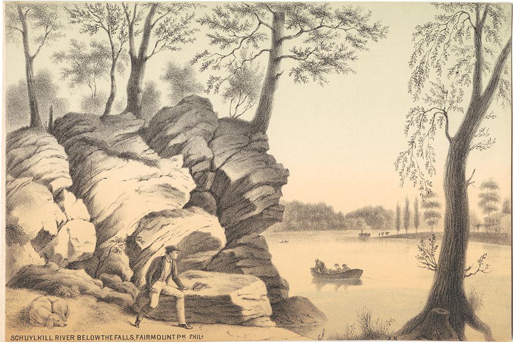 Schuylkill River Below the Falls, Fairmount Park, Philadelphia