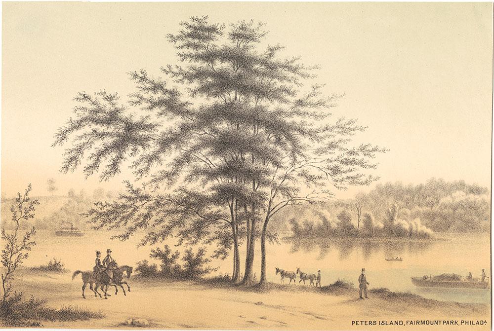 Peter's Island, Fairmount Park, Philadelphia